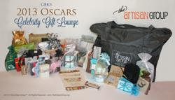 The Artisan Group 2013 Oscars Celebrity Gift Lounge Swag Bag