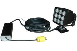 90 Watt Permanent Mount LED Spotlight with Swivel Base and Handle