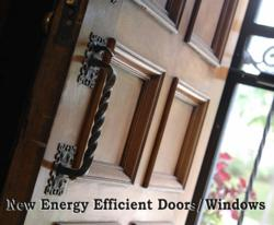 Home Remodeling And Tax Credit - New Doors And Windows