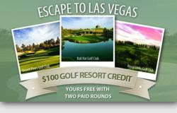 Las Vegas Resort Golf Course Credit