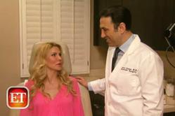 Dr. Simon Ourian discusses cosmetic treatments with Real Housewives of Beverly Hills' Brandi Glanville