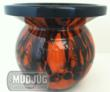 Orange Skull Mud Jug