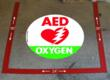 AED Oxygen Floor Marking Kit