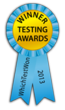 WhichTestWon's Testing Awards