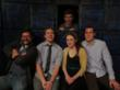 Members of Chicago Improv Leauge's Balt & Company include Jared Mason, Billy Walsh, Becca Slack, Tom Fell and Steve Clark.