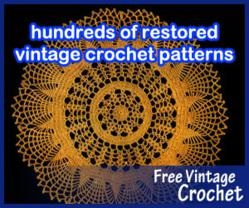 Free Patterns Vintage Crochet : Crochet Patterns Website Reaches Milestone: Two Thousand ...