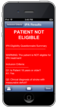 BrainAttack App Stroke Patient tPA Ineligibility Assessment