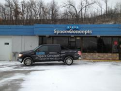 Visit the showroom of Space Concepts in Rochester, MN
