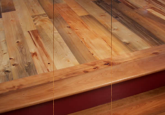 Maine Firm Launches Antique Flooring Line From Underwater Wood