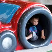 Tampa International Airport asked PLAYTIME to creat soft playgrounds for its airsides.