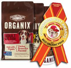 Dogington Post Announces Castor & Pollux Organix as Best Organic Dog Food for 2012