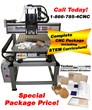 Complete CNC Machining Package for your STEM Initiative