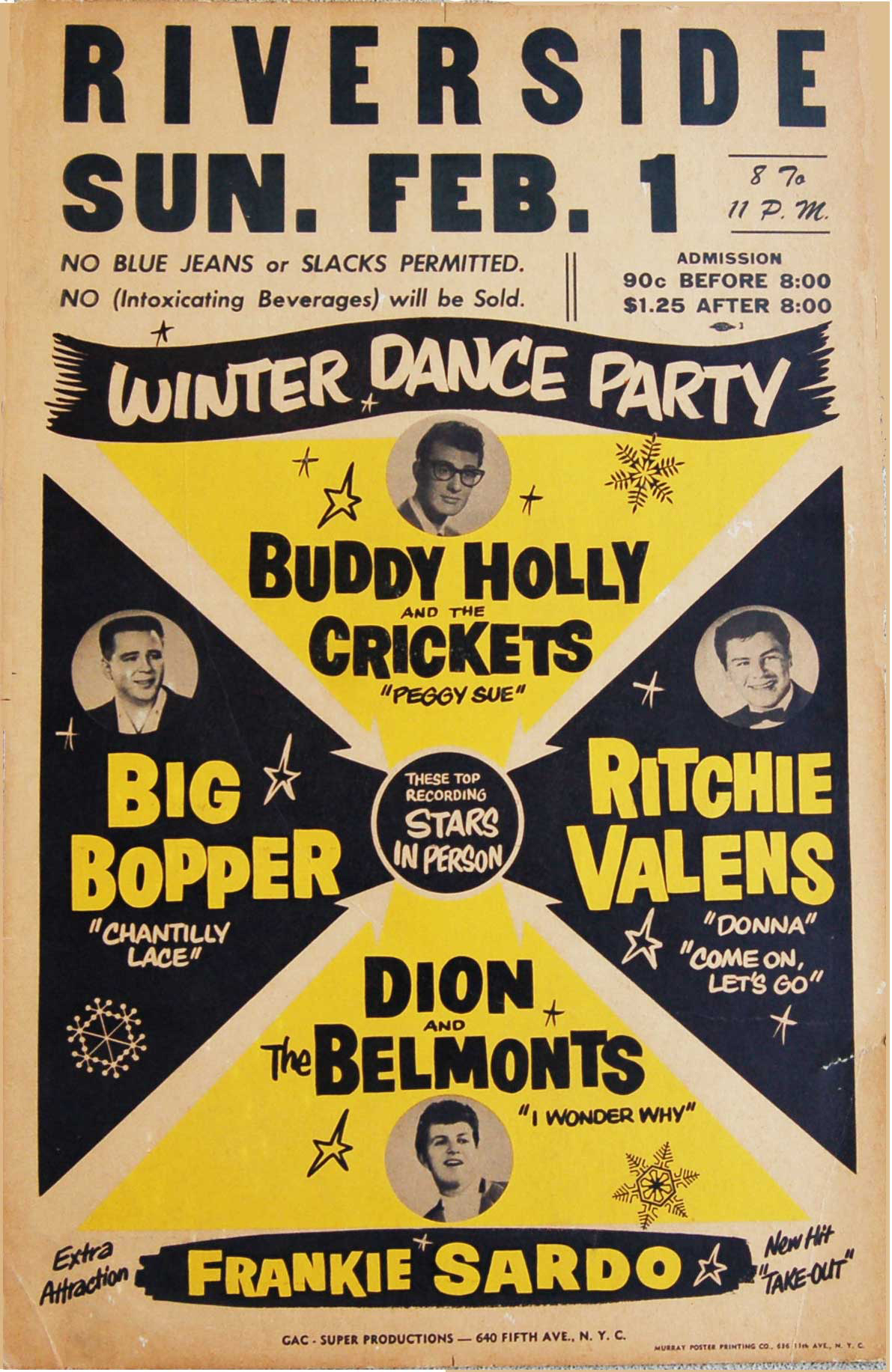 Serious Collector Finds a Buddy Holly 1959 Winter Dance ...