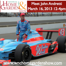 John Andretti at Asheville Home Show