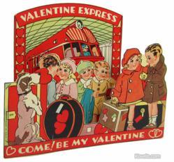valentine, paper, ephemera