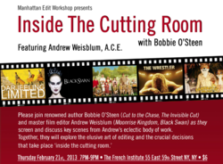 Inside The Cutting Room on February 21