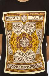 The Obey Peace and Love Tee