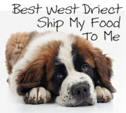 Shipping dog food to one happy dog!
