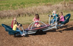 We-saw™, a new take on the traditional seesaw