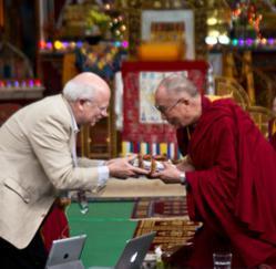 Dalai Lama and MLI's Arthur Zajonc