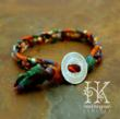Eco Globe Bracelet by Heidi Kingman Jewelry