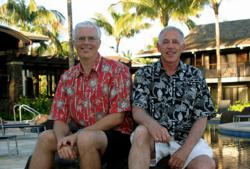 Beat of Hawaii's Rob Kvidt and Jeff Tucker
