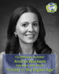 Andrea Weckerle founder of CiviliNation