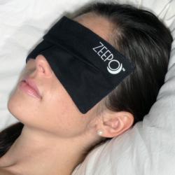 Sleep soundly with Zeepo eye mask for sleep.