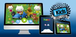 Kidobi wins Best Streaming Video Platform in the Preschool Category at the iKids Awards