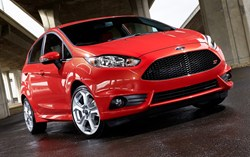 The Ford Fiesta Was The Best Selling Car in January 2013