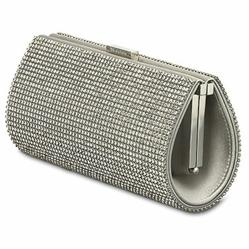Swarovski Power Bag, Silver Shade Crystal