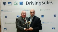 Brian Consaul and Wayne Clark Accept Top Rated Vendor Award