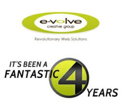 Evolve Creative Group 4 Year Anniversary