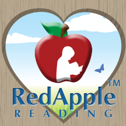 Red Apple Reading Valentine Logo