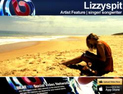 singer/ songwriter Lizzyspit has quickly established a growing fanbase on BEAT100