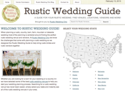 Rustic Wedding Guide screenshot
