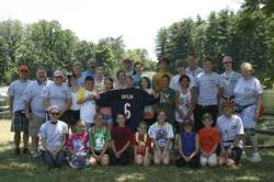 Campers at INdependence Diabetes Camp at YMCA Camp Carson, Princeton, IN