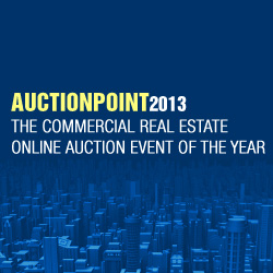 AuctionPoint2013: The Commercial Real Estate Online Auction Event of the Year
