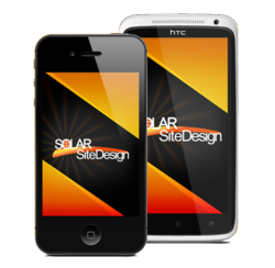 The Solar Site Design app will be available in both the Apple Store and Google Play.