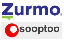 Zurmo Open Source CRM logo with Sooptoo logo