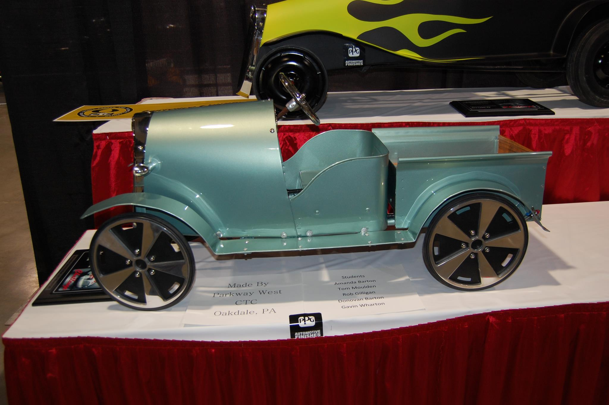 World Of Wheels Boston >> Genuine Hotrod Hardware Sponsors Pedal Car Challenge and Gene Winfield's Chop Shop at the Summit ...