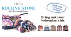 Omnisax Rolling Stone Reusable Bags from brightandbold.com