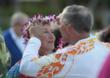 Larry and Linda Diedrich celebrated Valentine's Day renewing their marriage vows on the beach at Hawaii's Ko Olina Resort