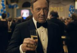 Frank Underwood (played by Kevin Spacey) Knows How to Dress for the Occasion