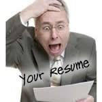 resume problems