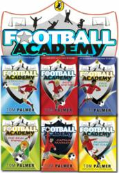 Football Academy Six Books Set Tom Palmer collection NEW Free Kick, striking out