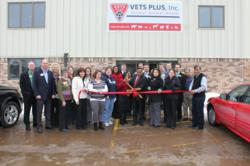 Vets Plus, Inc. Ribbon Cutting