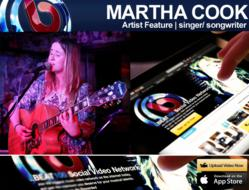 Singer-Songwriter Martha Cook BEAT100.com