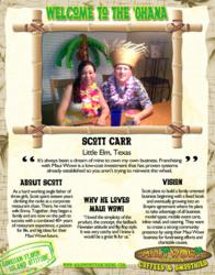 Welcome Scott Carr from Little Elm, Texas