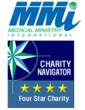 Medical Ministry International Achieves Charity Navigator's Exclusive 4-Star Rating